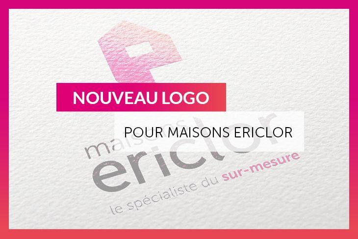 Nouveau logo Maisons Ericlor