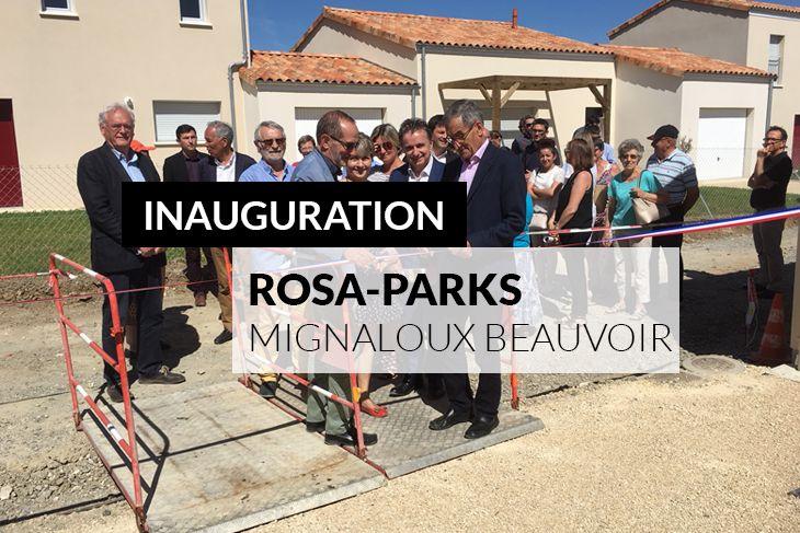 Inauguration du programme Rosa Parks